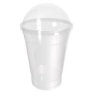 стакан с пластиковой крышкой